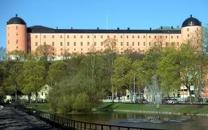 Uppsala Castle, photographed by David Castor, released to the public domain