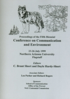 Cover of Fifth COCE Proceedings