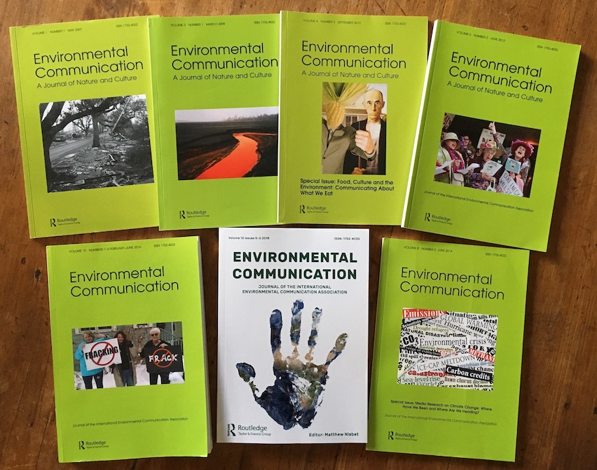 Environmental Communication journal covers